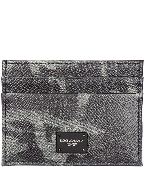 Credit card holder Dolce&Gabbana BP0330AV691HJ046 camouflage grigio