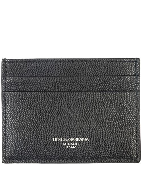 Porta carte di credito Dolce&Gabbana BP0330AZ6018B956 nero