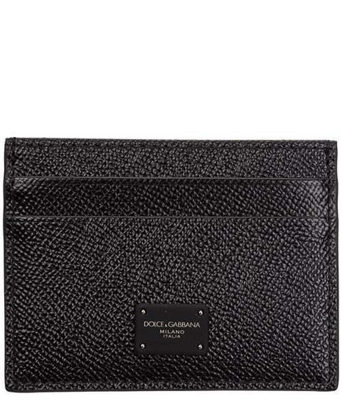 Porta carte di credito Dolce&Gabbana bp0330az60280999 nero