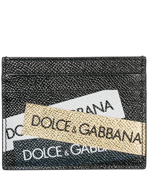 Kreditkartenhalter Dolce&Gabbana BP0330AZ9088V038 nero / oro / bianco