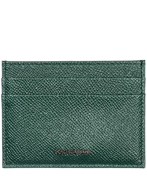 Porte carte de crédit  Dolce&Gabbana BP0330B343280558 verde scuro 2