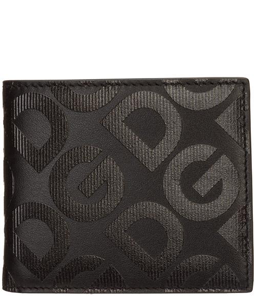 Wallet Dolce&Gabbana logo dg BP1321AJ690HNNDN nero