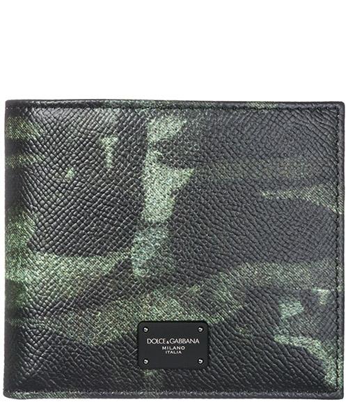 Portafoglio Dolce&Gabbana BP1321AV691HH046 camouflage verde
