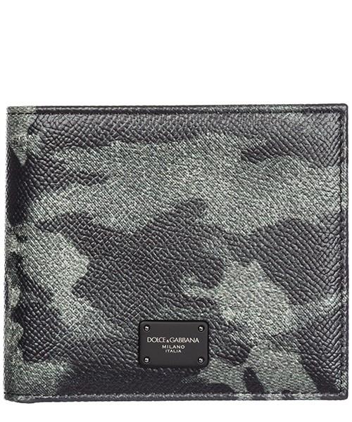 Portafoglio Dolce&Gabbana BP1321AV691HJ046 camouflage grigio