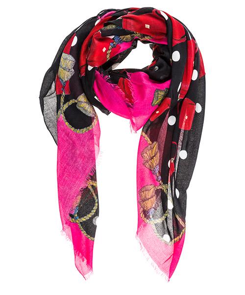 Cashmere scarf Dolce&Gabbana FS184AGDK63HNV60 nero
