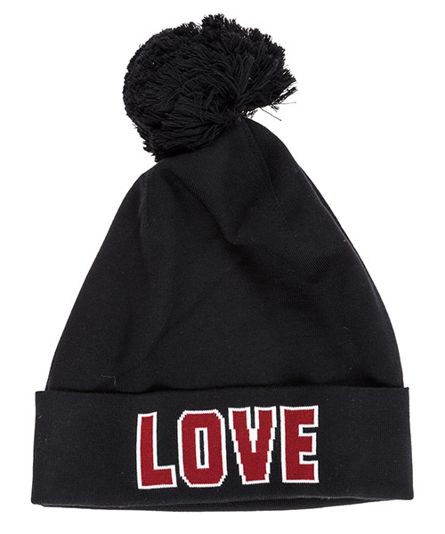 Women's wool beanie hat secondary image