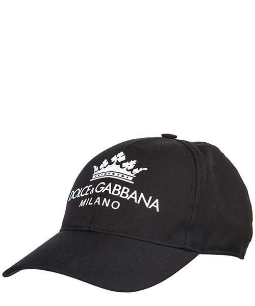 Cappello baseball Dolce&Gabbana GH649AGEF62N0000 nero
