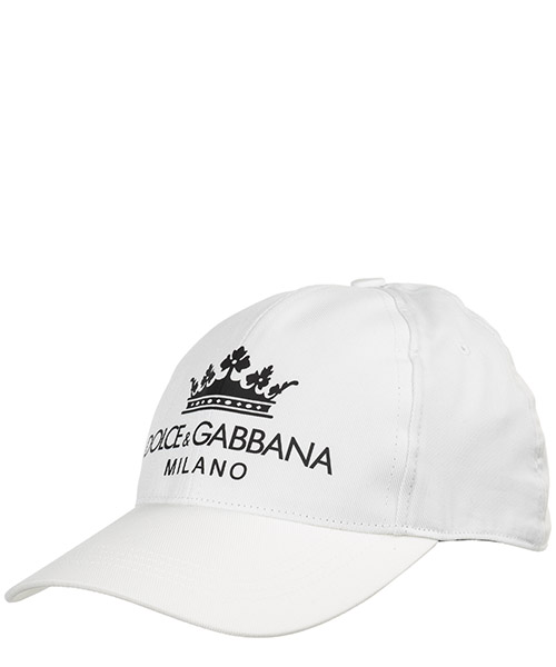 Gorra de beisbol Dolce&Gabbana GH649AGEF62W0800 bianco