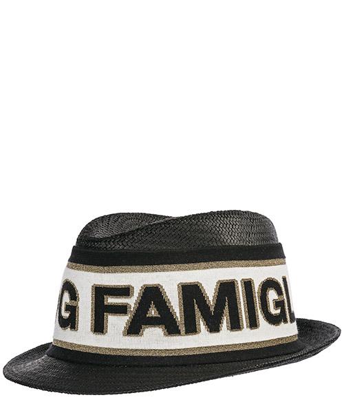 Sombrero Dolce&Gabbana GH659ZGEG62N0000 nero