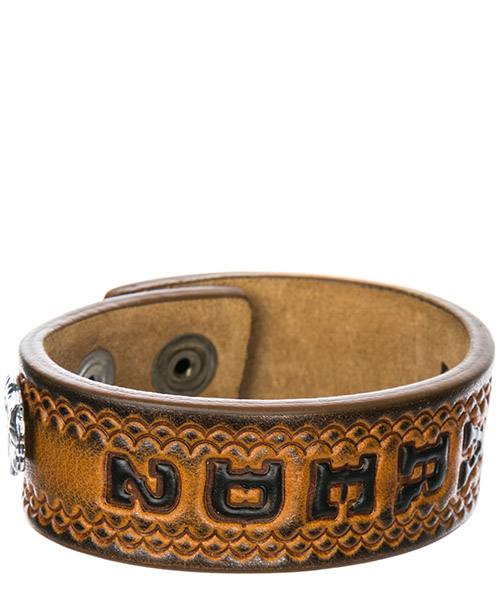 Men's leather bracelet hippie cowboy rodeo boy secondary image