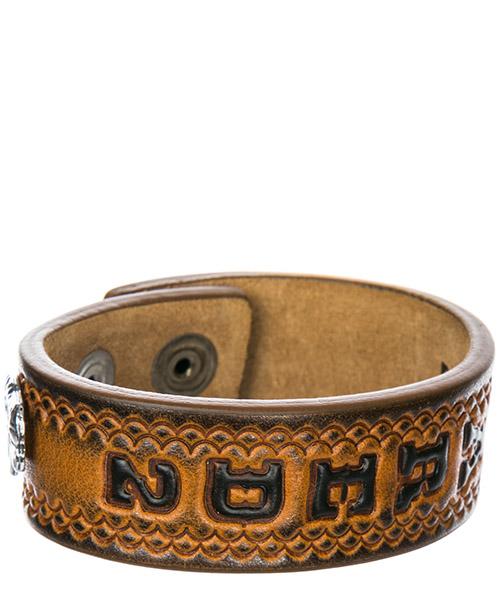 Bracelet homme en cuir hippie cowboy rodeo boy secondary image