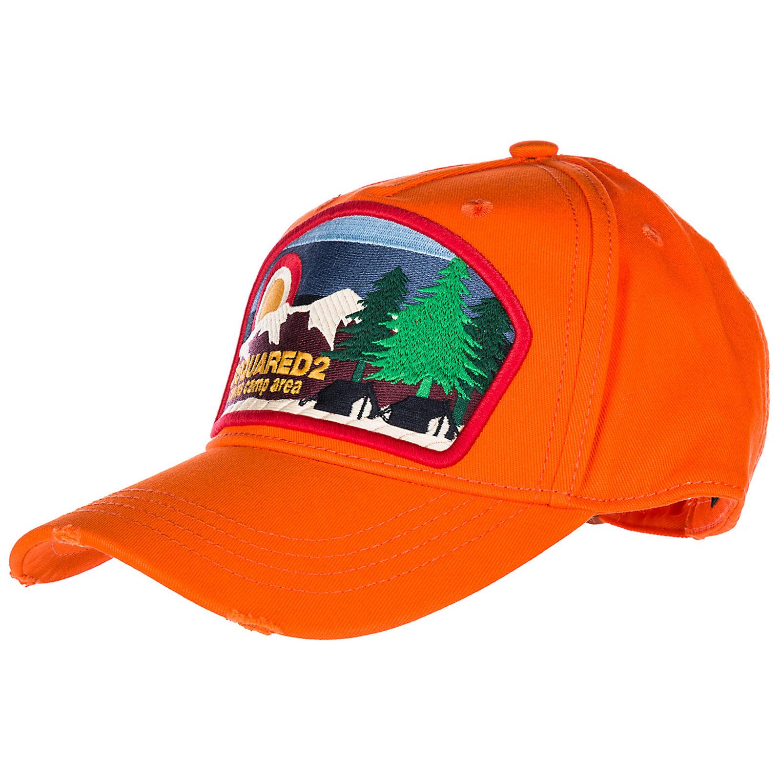 Cappello berretto regolabile uomo in cotone camp batch baseball