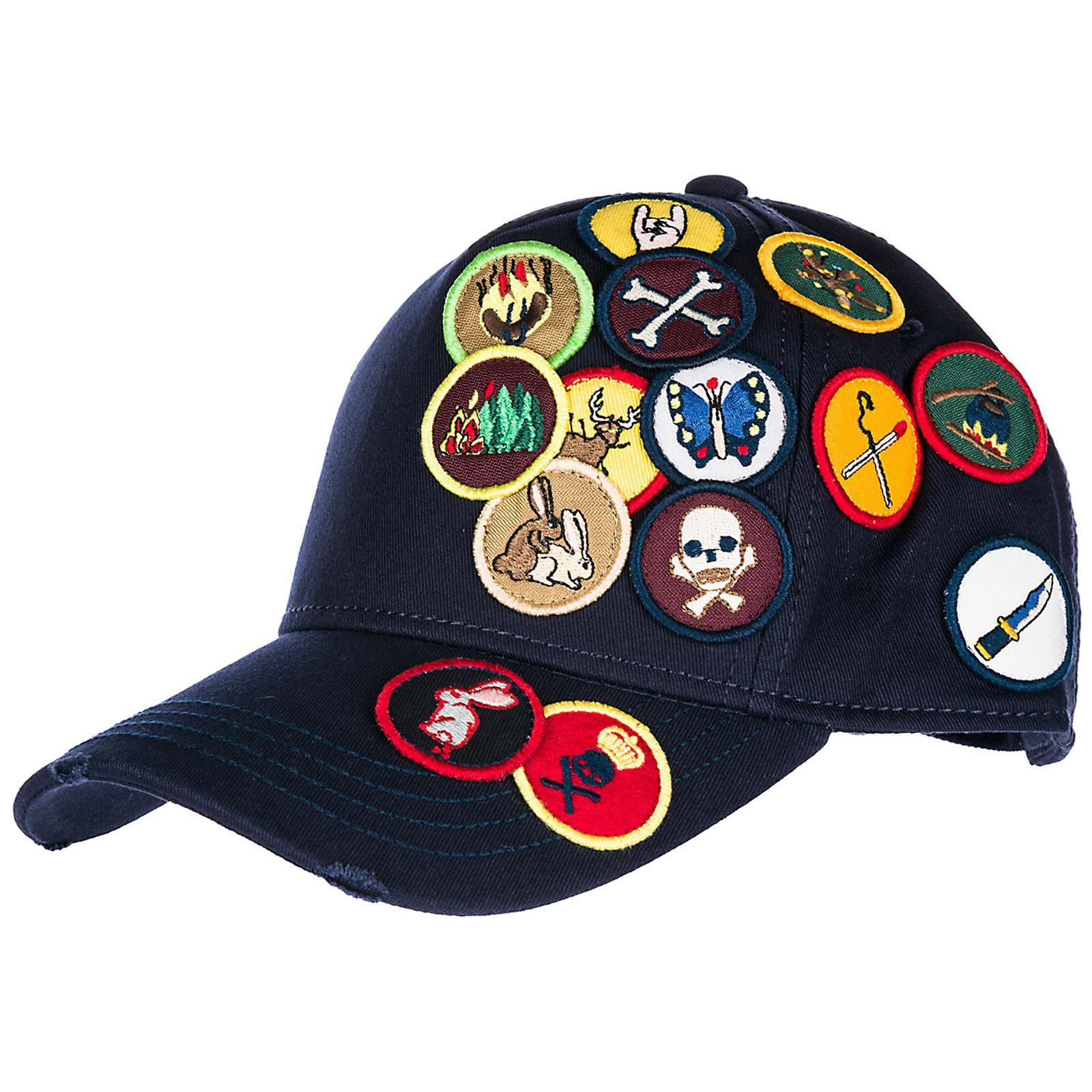 Cappello berretto regolabile uomo in cotone baseball