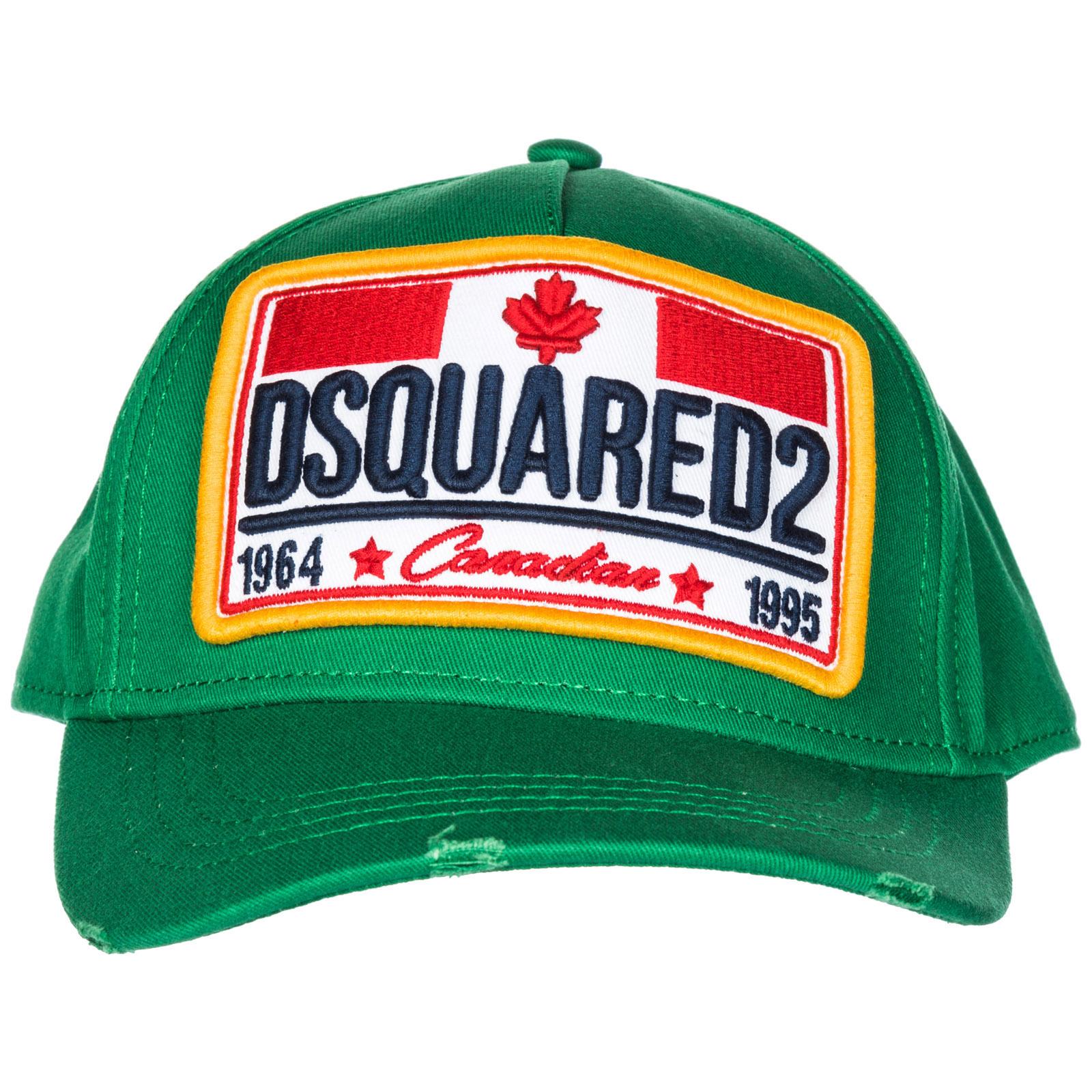 e2ba70232e8 Baseball cap Dsquared2 Canadian Flag BCM013505C000018079 smeraldo ...