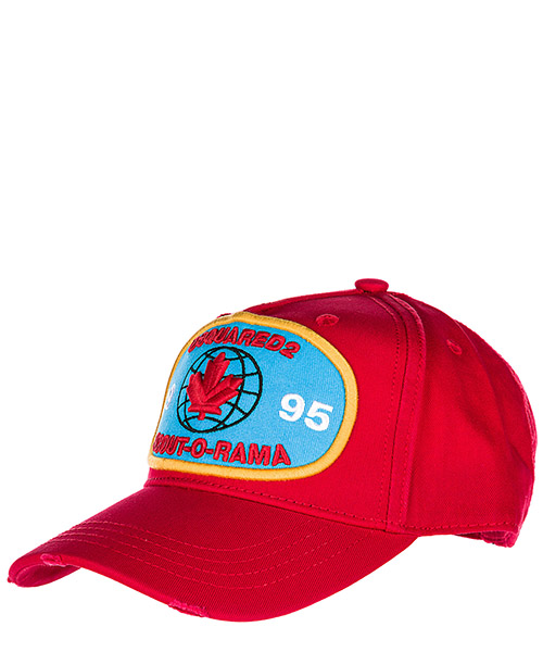 Baseball cap Dsquared2 BCM000905C000014065 rosso