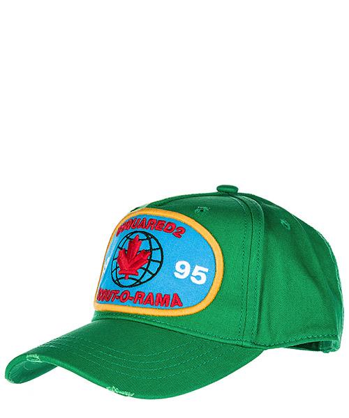 Cappello baseball Dsquared2 BCM000905C000018077 verde