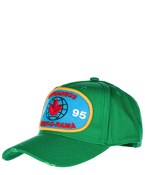 Baseball cap Dsquared2 BCM000905C000018077 verde