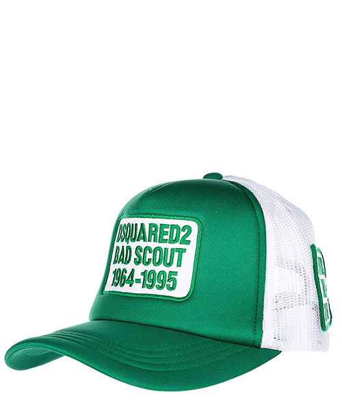 Cappello baseball Dsquared2 Bad Scout BCM001901Y002918079 smeraldo