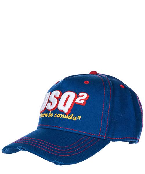Cappello baseball Dsquared2 DSQ2 BCM004005C000013072 blu