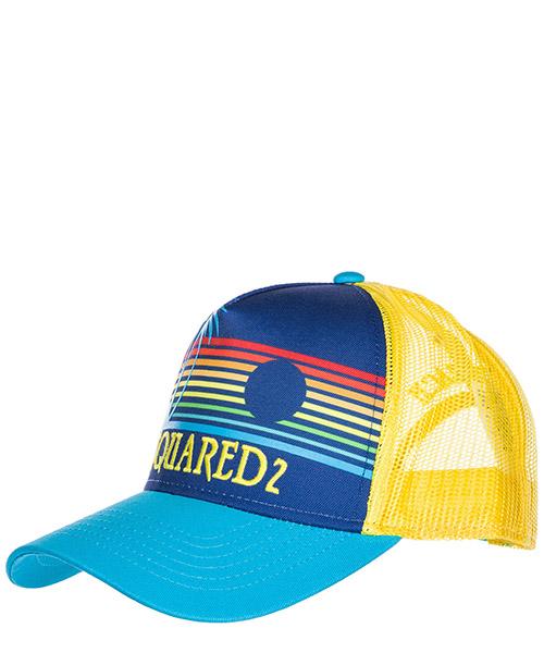Baseball cap Dsquared2 Hawaiian Rocker BCM0048135500013085 blu