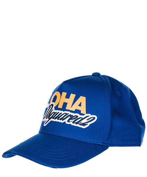 Cappello baseball Dsquared2 Aloha BCM005705C000013072 bluette