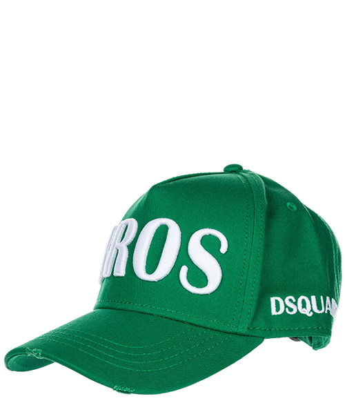 Baseball cap Dsquared2 Bros BCM006205C00001M1447 verde