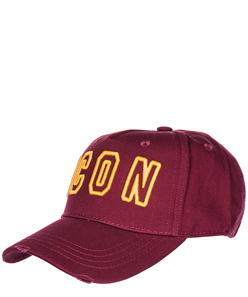 Baseball cap Dsquared2 Icon BCM007905C00001M1498 bordeaux