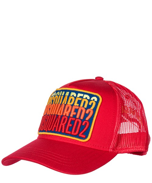 Cappello baseball Dsquared2 BCM0103135500014065 rosso