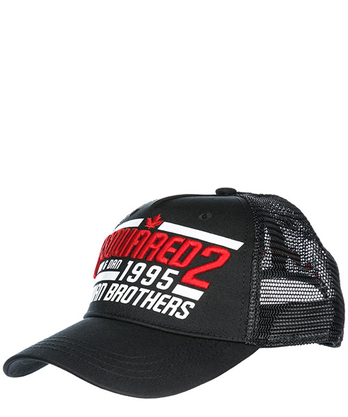 Baseball cap Dsquared2 Canadian Brothers BCM0133135500012124 nero