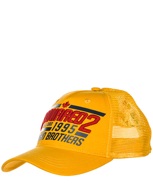 Baseball cap Dsquared2 Canadian Brothers BCM0133135500017047 giallo
