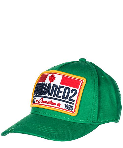 Baseball cap Dsquared2 Canadian Flag BCM013505C000018079 smeraldo