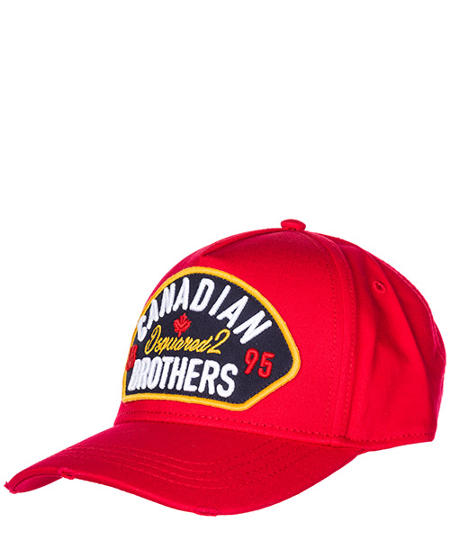 Baseball cap Dsquared2 Canadian Brothers BCM013905C000014065 rosso