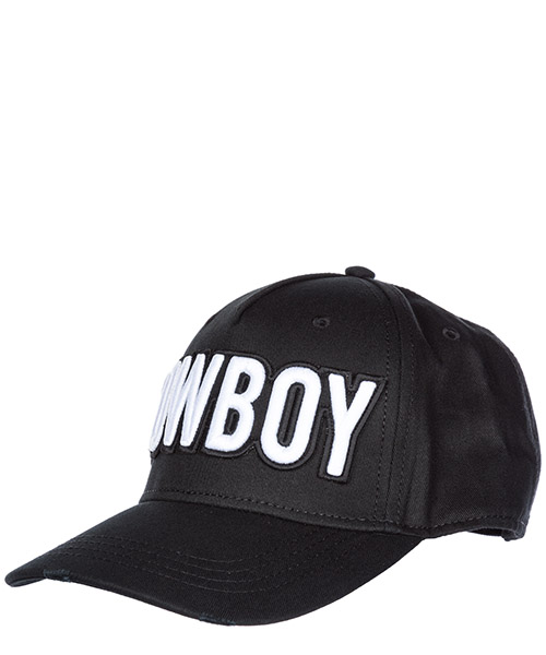 Cappello baseball Dsquared2 Patch BCM014005C000012124 nero