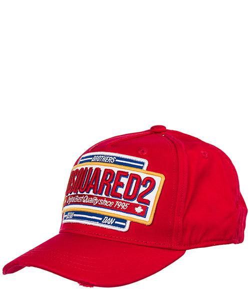 Gorra de beisbol Dsquared2 BCM020108C000014065 rosso