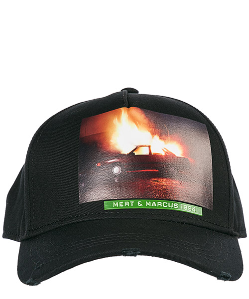 Sombrero en algodón ajustable hombre  mert & marcus secondary image