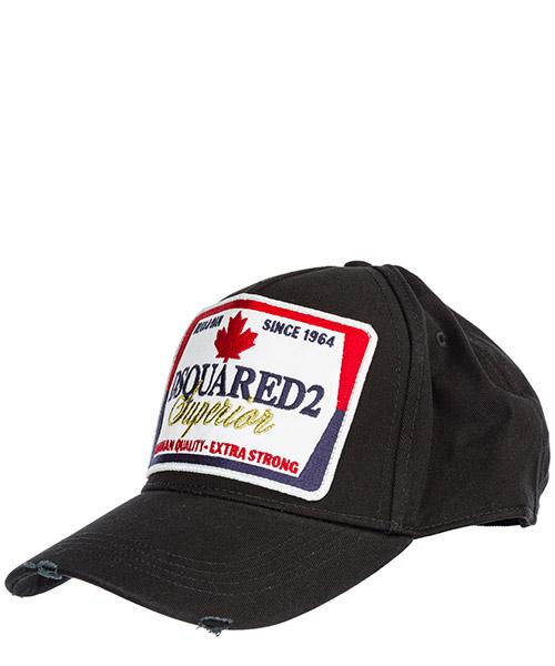 Baseball cap Dsquared2 bcm022905c000012124 nero