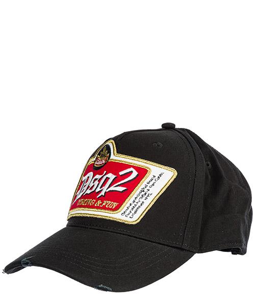 Baseball cap Dsquared2 bcm023005c000012124 nero
