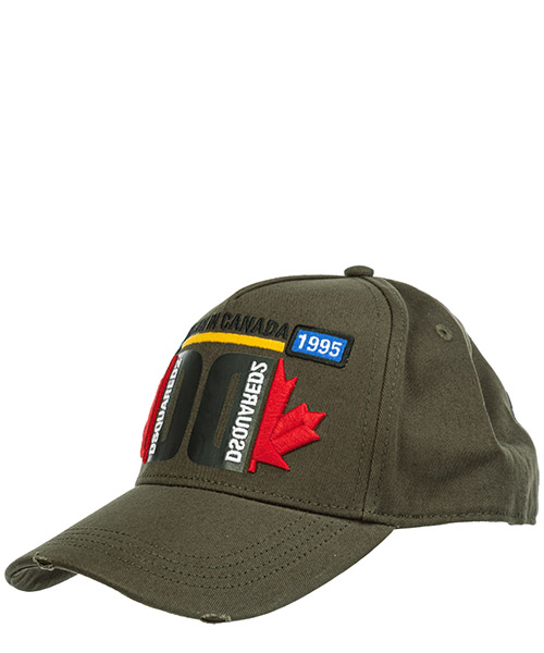 Baseball cap Dsquared2 bcm024305c000018066 militare