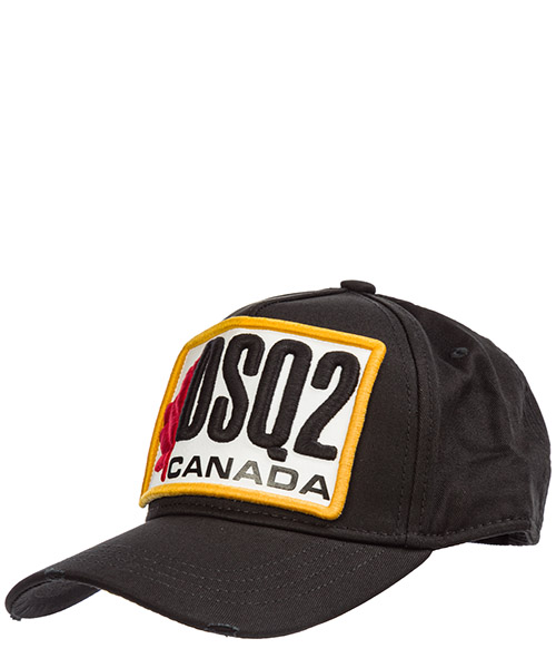 Baseball cap Dsquared2 bcm024505c000012124 nero