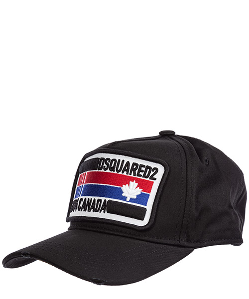 Cappello baseball Dsquared2 bcm024705c000012124 nero