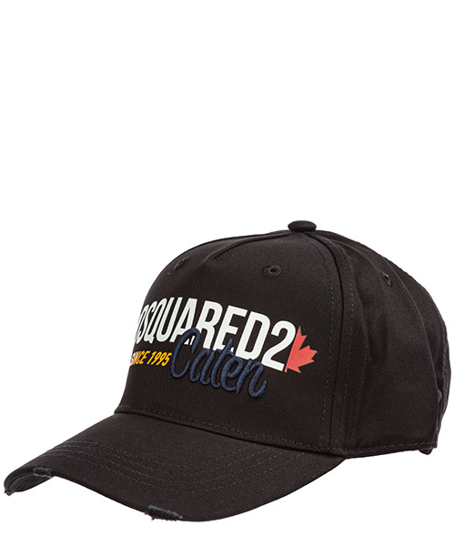 Cappello baseball Dsquared2 bcm025005c000012124 nero