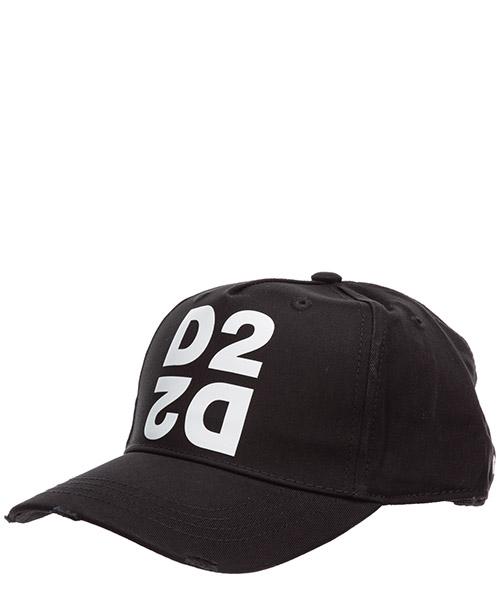 Baseball cap Dsquared2 d2 BCM026505C000012124 nero