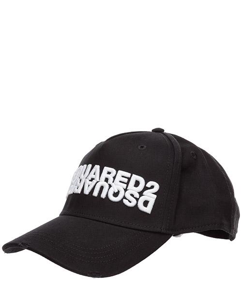 Baseball cap Dsquared2 BCM028205C00001M063 nero