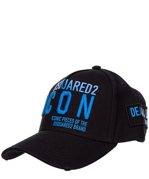 Baseball cap Dsquared2 icon BCM029005C00001M1571 nero