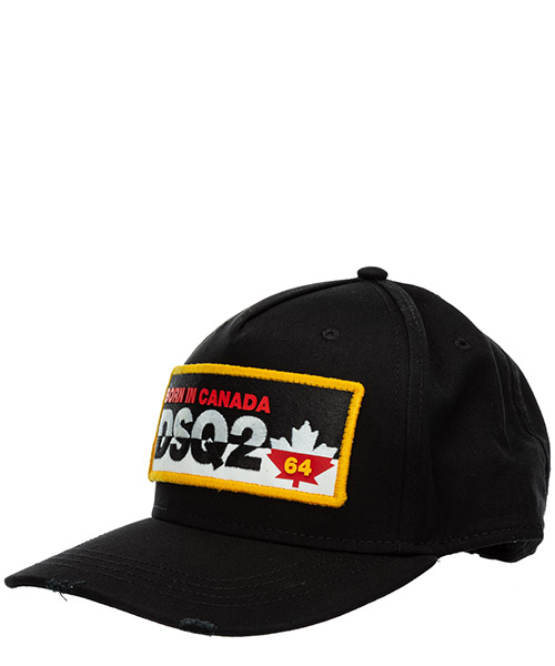 Baseball cap Dsquared2 BCM035605C000012124 nero