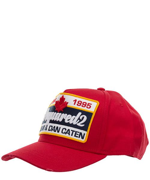 Baseball cap Dsquared2 dean&dan caten BCM036405C000014065 rosso