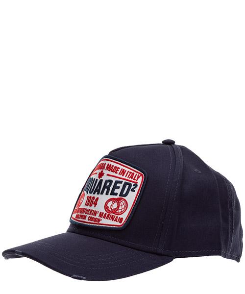 Baseball cap Dsquared2 d2 worldwide BCM036605C000013073 blu
