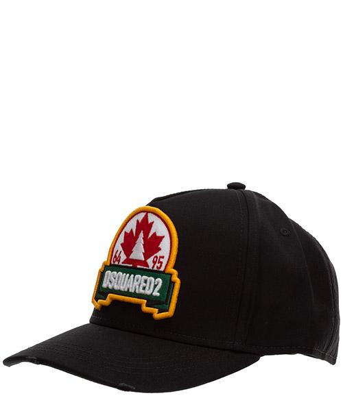 Baseball cap Dsquared2 maple BCM037905C000012124 nero