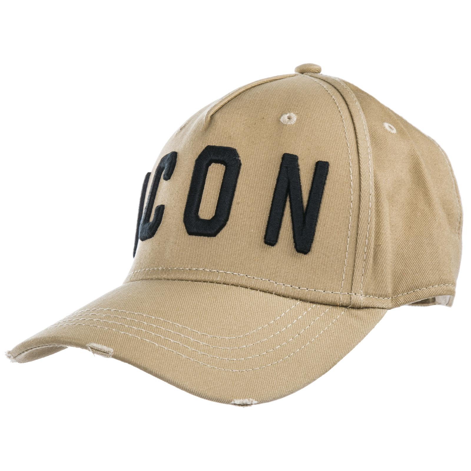 Dsquared2 Cappello berretto regolabile uomo in cotone icon 630f5bdd9760