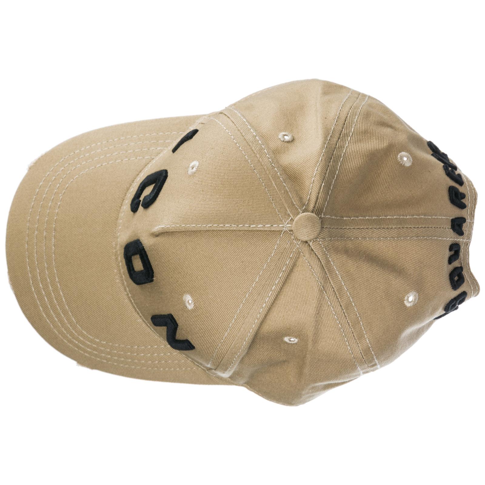 Cappello Dsquared2 Icon BCM400105C00001M1489 kaki + nero  64649bbca209